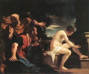 Guercino (1591-1666) - Zuzanna i starcy