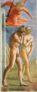 Masaccio, Wygnanie z raju, 1401-1428